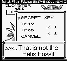 That's Not The Helix Fossil by Hadam10Rose
