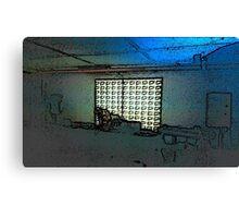 BLACK Electronic Underground #1 Canvas Print