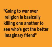 War & Religion by Alexandra Felgate