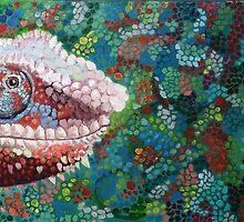 Chameleon Lizard by sahmwich-art