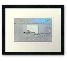 BLACK Electronic Underground #2 Framed Print