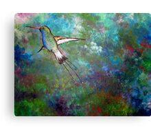 """Flight of the Hummingbird"" Canvas Print"