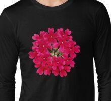'Red Verbena' Long Sleeve T-Shirt