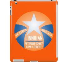 Re-Election Linnihan Khan Orange Logo iPad Case/Skin