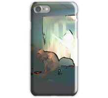 BLACK Electronic Underground #3 iPhone Case/Skin