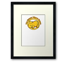 Hungry Hippos Games Framed Print