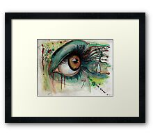 Blink of eyes - 2 Framed Print