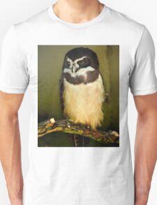 Owl, London Zoo Unisex T-Shirt
