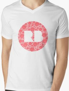 Redbubble Logo Mens V-Neck T-Shirt