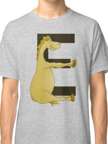 Pony Monogram Letter E Classic T-Shirt