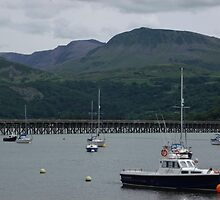 barmouth harbour by mindgoop