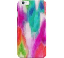 Epiphany 2 - Abstract Watercolor Ikat iPhone Case/Skin
