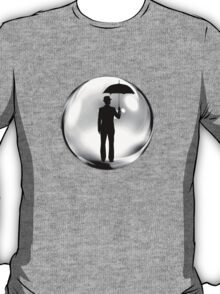Man in the Bubble T-Shirt