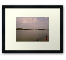 Overlooking the Airport Framed Print