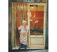 The Tuscan Butcher Photographic Print