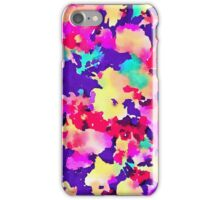 Lush - Abstract Watercolor Floral Painting iPhone Case/Skin