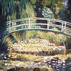 "After Monet - ""Le Bassin aux nymphéas"" by Marilyn Brown"