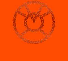 Orange Lantern Oath (Black) Unisex T-Shirt