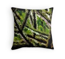 Needles and Pins Throw Pillow