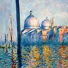 "After Monet - ""The Grand Canal"" by Marilyn Brown"