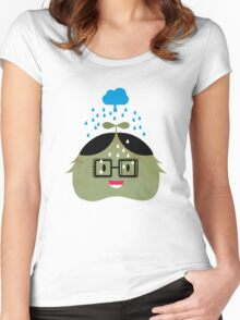 nerd Women's Fitted Scoop T-Shirt