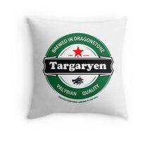 Targaryen Brewing Co. Throw Pillow