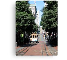 The Trolley Canvas Print