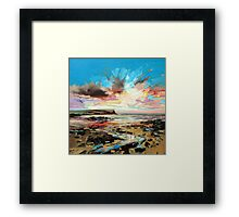 Beach at Loch Brittle Framed Print
