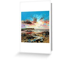Beach at Loch Brittle Greeting Card