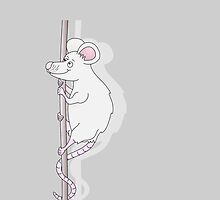 Climbing Mouse by piedaydesigns