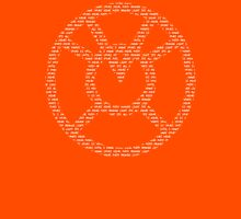 Orange Lantern Oath (White) Unisex T-Shirt