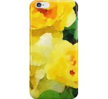 Renew - Yellow Flowers in Watercolor iPhone Case/Skin