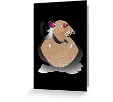 Superhero Hamster Greeting Card
