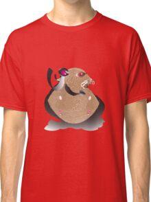 Superhero Hamster Classic T-Shirt