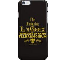 LaCroix Wireles Dynamo Telharmonium iPhone Case/Skin