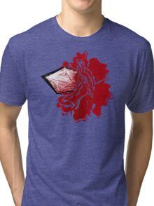 Sanguine Rose Tri-blend T-Shirt