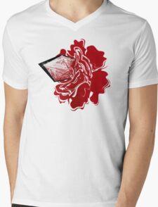 Sanguine Rose Mens V-Neck T-Shirt