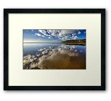 Mirror Beach Framed Print