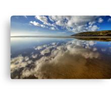Mirror Beach Canvas Print