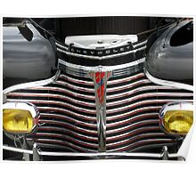 1941 CHEVROLET GRILL Poster