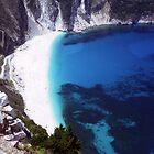 Myrtos Bay by Wayne Gerard Trotman