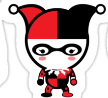 The Cute Gotham City Sirens Sticker