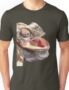 Chameleon with Happy Smiling Expression Vector Unisex T-Shirt