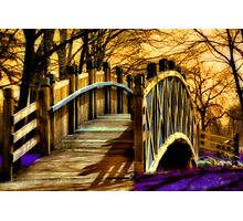 Crossing Over Photographic Print