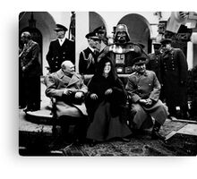 History Rewritten... The Star Wars Empire Forever! Canvas Print