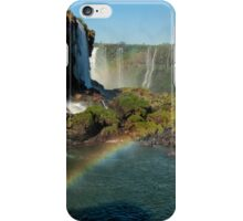 Iguazu Falls Rainbow iPhone Case/Skin