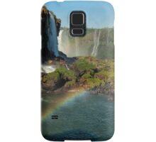 Iguazu Falls Rainbow Samsung Galaxy Case/Skin