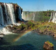 Iguazu Falls Rainbow by photograham