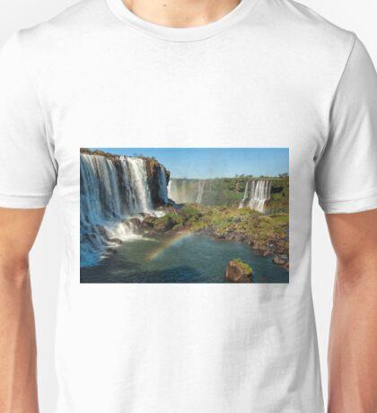 Iguazu Falls Rainbow Unisex T-Shirt