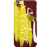 Quidditch Seeker iPhone Case/Skin